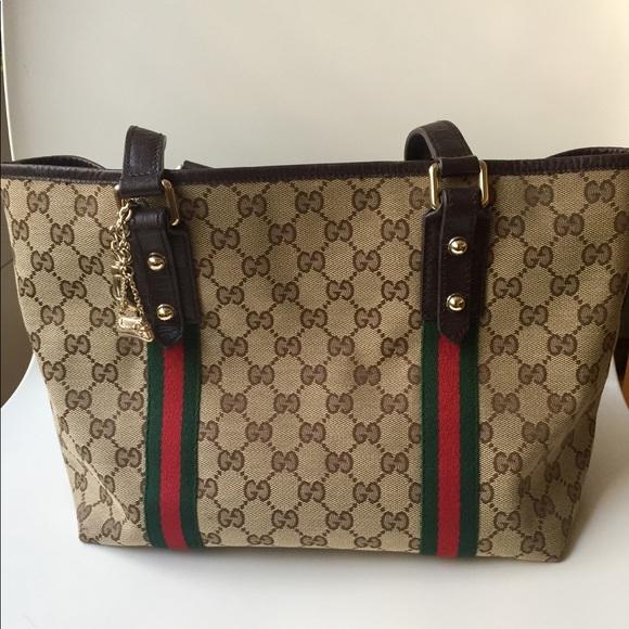 5958c07f717e Gucci Bags   Medium Gg Jolicoeur Tote   Poshmark